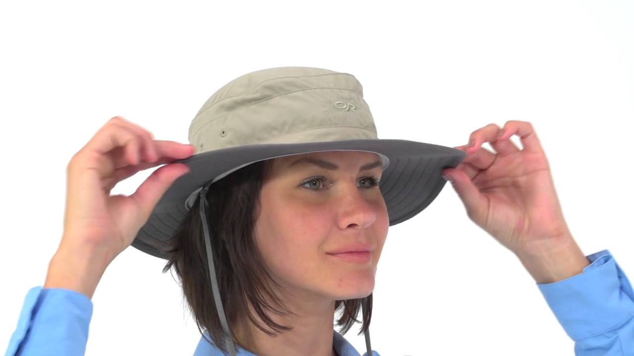 5964128e7f253 Outdoor Research Women s Solar Roller Hat - YouTube