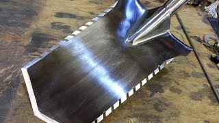 Home Made Stainless Steel Metal Detecting Spade