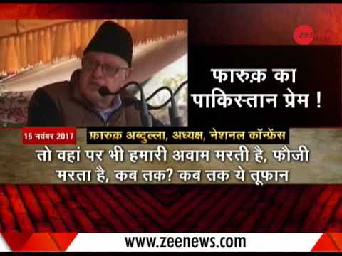"""Till when will we claim PoK is ours?"" asks Farooq Abdullah"