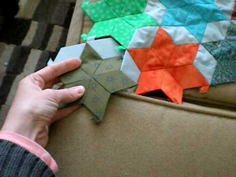 English Paper Piecing With Quilt Patis Youtube