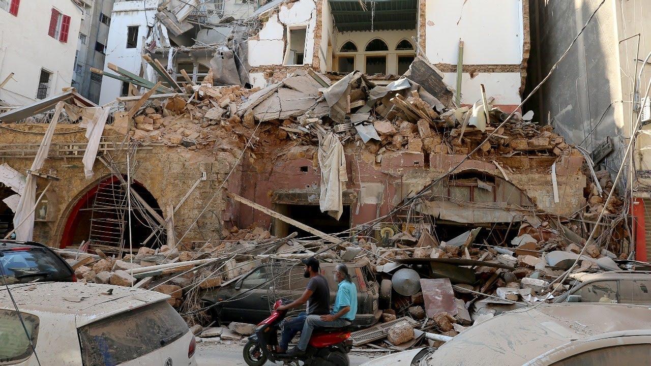 بث مباشر لاخر اخبار الانفجار الذي حصل في مرفأ بيروت | LBCI Lebanon news live streaming