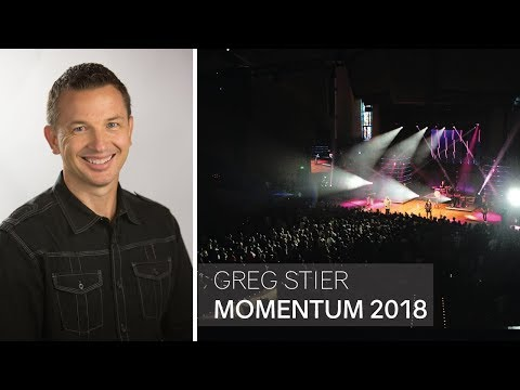 Greg Stier Speaking at Momentum Youth Conference 2018