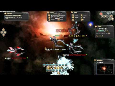 DARK ORBIT CRAZY ANGEL LVL 17 EN ALTOS DE VRU CON DEATH STRIKE.avi