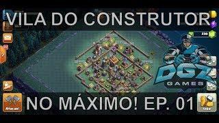 PROJETO VILA DO CONSTRUTOR NO MÁXIMO! EP 01 CLASH OF CLANS!