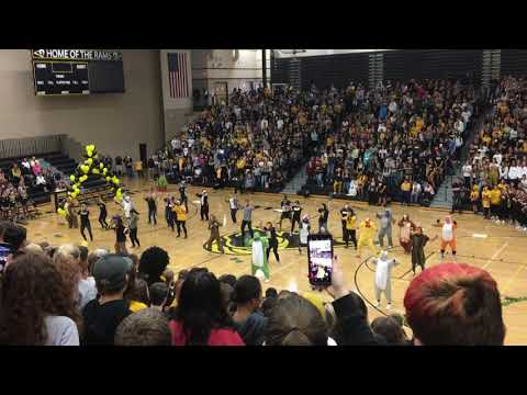 Southeast Polk 2018 Homecoming Assembly Staff Performance