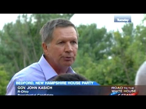 John Kasich Meet And Greet House Party In Bedford, New Hampshire