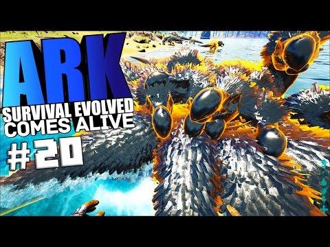 ARK Survival Evolved - UNLIMITED MATRIX CORES & 40x ORIGIN BOSS FIGHT Modded #20 - ARK Mods Gameplay