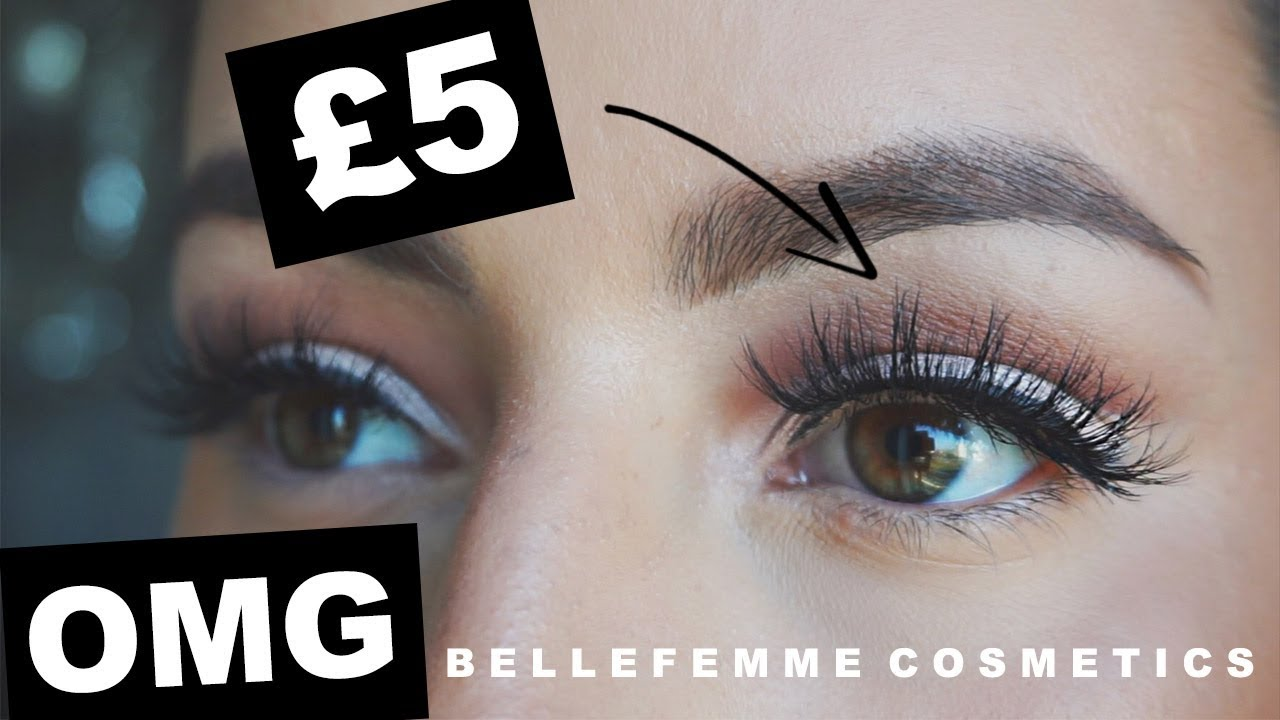 3a86058349c £4.15 LASHES! LILY LASHES DUPES - BELLEFEMME COSMETICS · REVIEW || Emily  Diane Philpott
