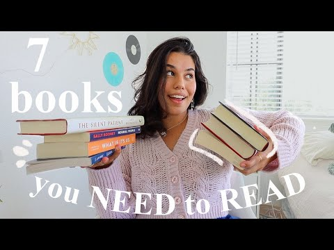 7 Books You NEED to Read *that left me speechless