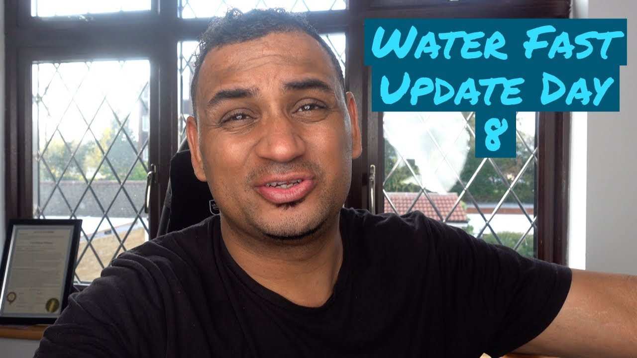 Water Fasting Vlog | Water Fast Day 8 Update