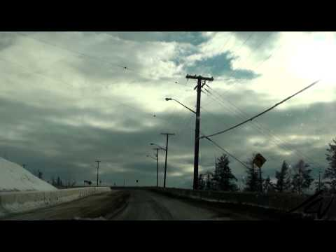 Canadian Rockies in Winter - Driving between BC and Alberta - YouTube