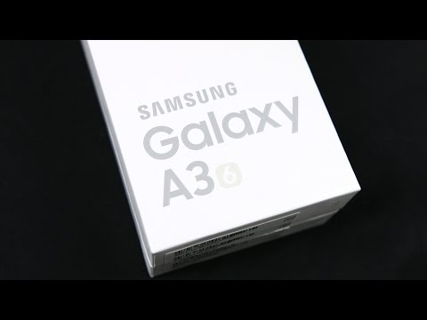 Unboxing: Samsung Galaxy A3 2016 (Deutsch) | SwagTab