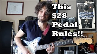 The BEST Budget Pedal: Behringer VP1 Demo