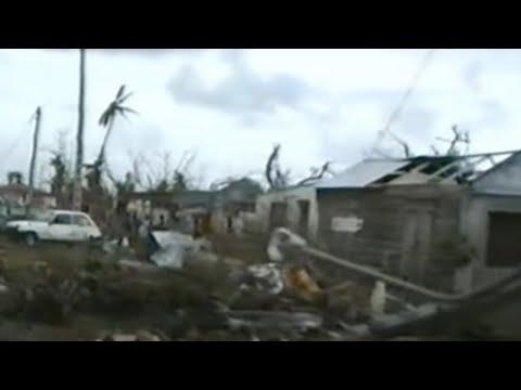 Les rescapés : Dans l'oeil du Cyclone Hugo (Guadeloupe)
