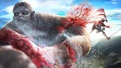 Shingeki no Kyojin Season 3 - Levi vs Beast Titan [GER SUB FULL HD]