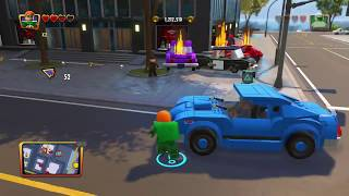 Lego The Incredibles - Financial ALL COLLECTIBLES 100% RED BRICK Destroy on Contact Walkthrough