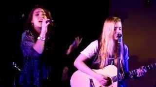 "Kaitlyn Jackson & Brenna Swanger cover ""Walk The Moon"" (Mash-up)"