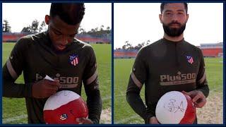 Sorteo balón firmado Atlético de Madrid – For the Fans