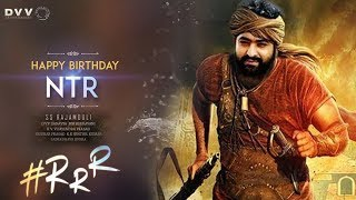 Jr NTR Birthday Special Video | RRR Movie Latest Updates | Ram Charan | Rajamouli | Tollywood Nagar