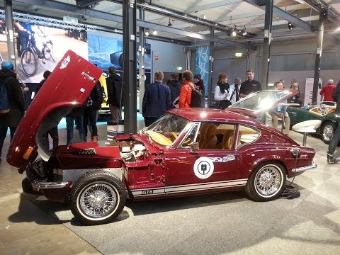 MGA Roadster EV & Triumpf GT6 Electric at EcarExpo Stockholm
