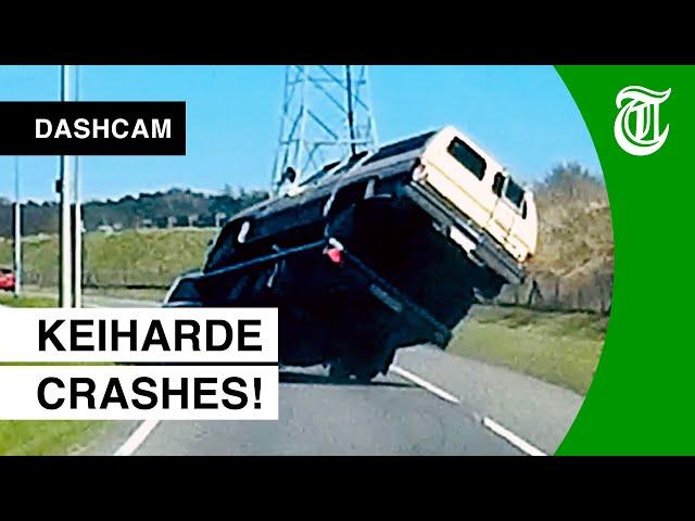 Dashcam-compilatie: zoveel ongelukken zag je nog nooit!
