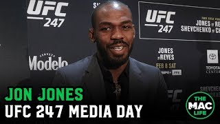 Jon Jones respects Stephen A. Smith but he