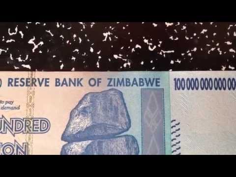 100 Trillion Dollars Zimbabwe