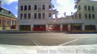 Kirksville Missouri - Miller Building Demolished - Time Lapse