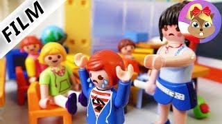 Playmobil Film polski   JULIAN PRZESADZA  - zostaje wywalony z lekcji?   Serial Wróblewscy