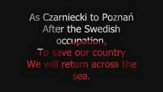 Polish National Anthem + English Subtitles