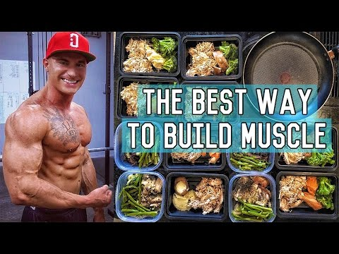 The Perfect Muscle Building Diet | 3400 Calorie Lean Bulk Me