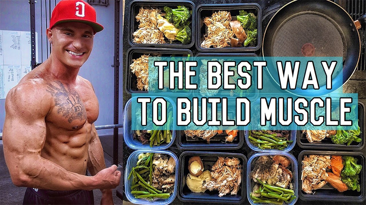 The Perfect Muscle Building Diet   3400 Calorie Lean Bulk Meal Plan - Body Fitness Tricks