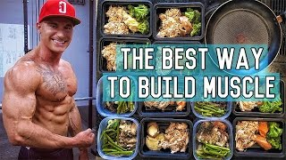 The Perfect Muscle Building Diet | 3400 Calorie Lean Bulk Meal Plan