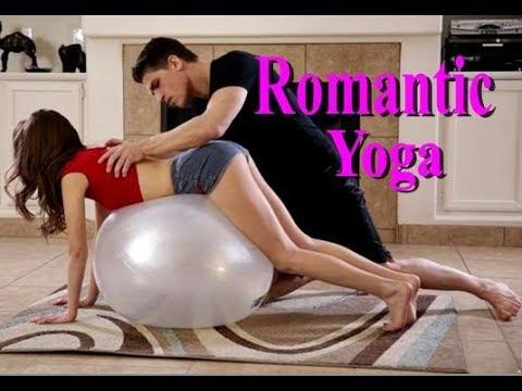 hot chicks doing yoga