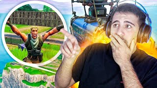¿QUE PASA SI NO COGES EL AUTOBUS EN FORTNITE ? REACCIONANDO A PELICULAS DE FORTNITE - ElChurches