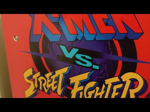 X-Men VS Street Fighter (Arcade 1Up) Friday Night Fights #3 online play from Footie Laughs