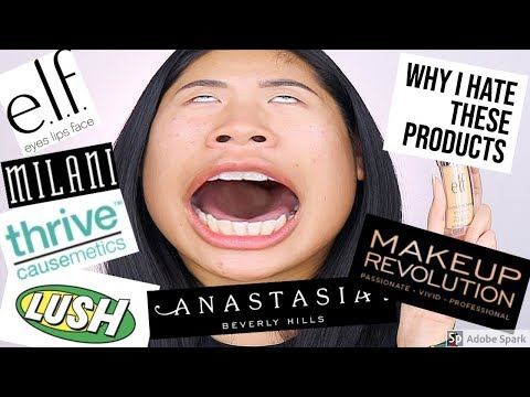 WORST MAKEUP PRODUCTS OF 2018    Ling.KT