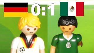 ⚽DEUTSCHLAND - MEXIKO 0:1 FIFA FUSSBALL WM 2018 HIGHLIGHTS Playmobil Stop Motion deutsch