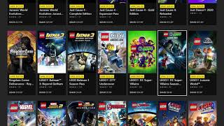 Xbox Deals Unlocked Game Sale 2020.