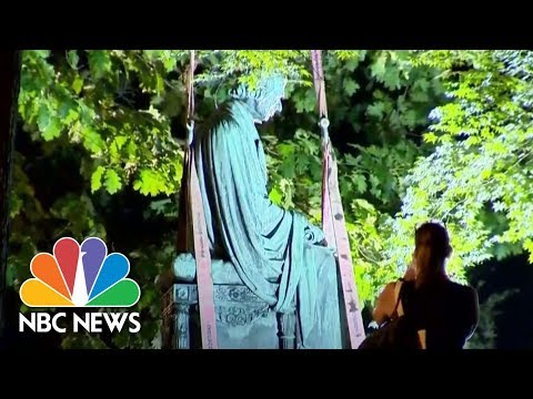 Former Supreme Court Chief Justice Statue From Maryland State House Removed | NBC News