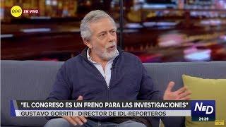 """Gustavo Gorriti: """"Es muy probable que salgan datos de nuevos casos de corrupción"""""""