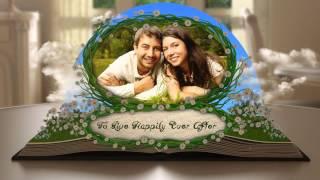 свадебный видео шаблон 2015