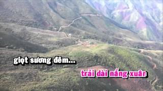 [HD] Karaoke Xuân về bản Cọ - beat Organ (Karaoke by Kgmnc)
