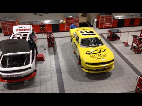 www.MOTRface.com Penske Racing Facility Mooresville NC - video 1 of 2