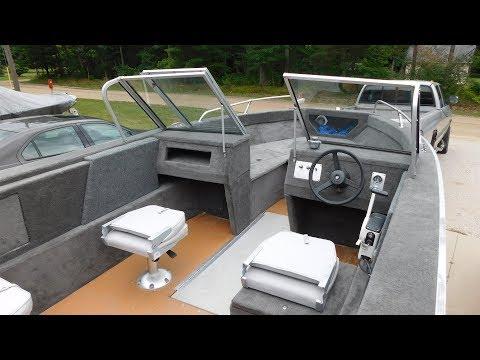 Complete Aluminum Boat Restoration