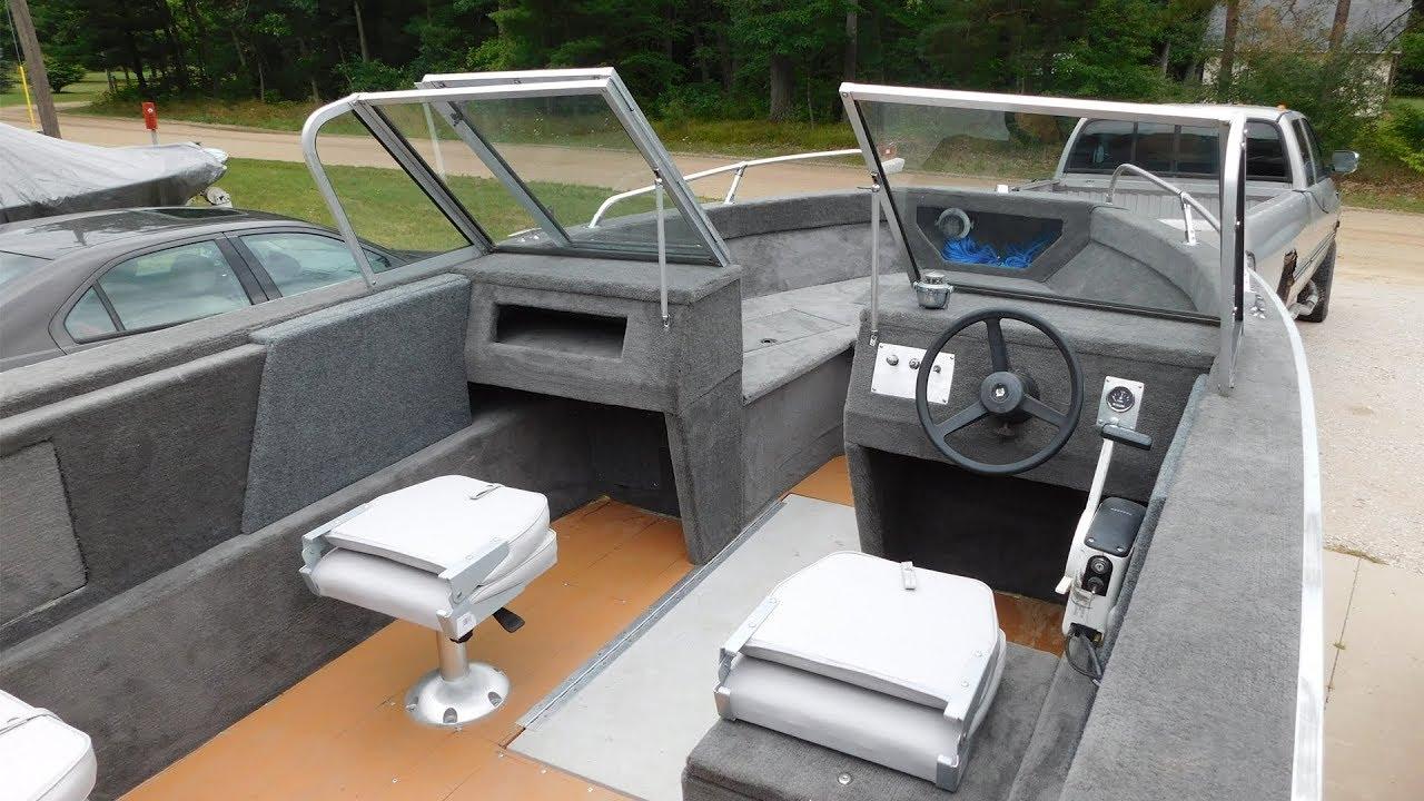 Complete Aluminum Boat Restoration Youtube