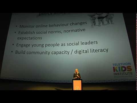 Donna Cross on Bullying Amongst Children in our Digital Society at WABF 2017