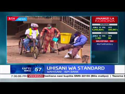 Uhisani wa Standard :  Kampuni ya Standard Group yawasaidia wasiojiweza mitaani