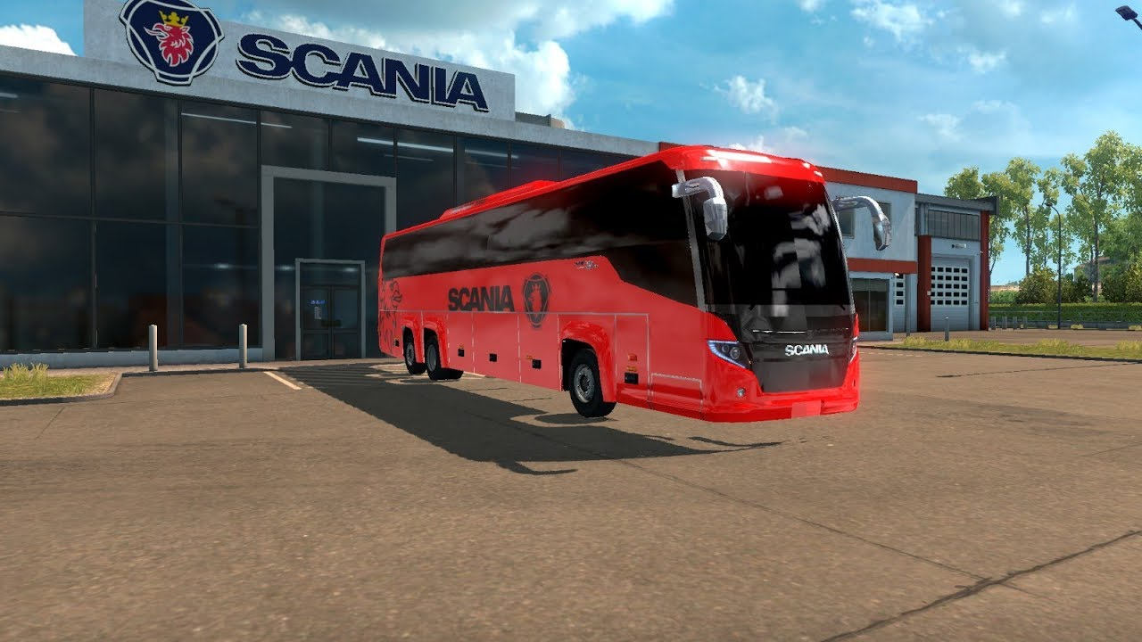 [ETS2 Mod] Scania Touring Project (Test on 1 30)
