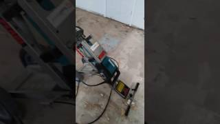 How to remove wood floor that has been glued to concrete